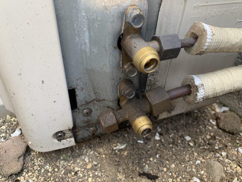 ガス漏れ原因はバルブ故障